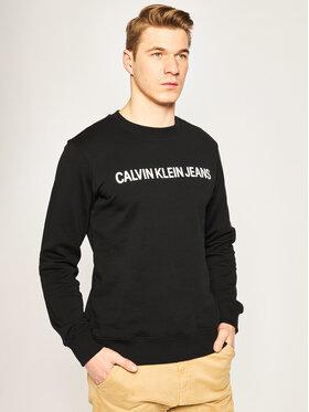 Calvin Klein Jeans Calvin Klein Jeans Mikina J30J307757 Černá Regular Fit