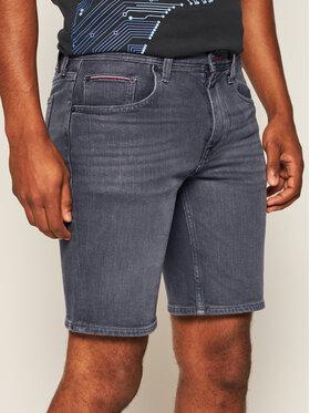 TOMMY HILFIGER TOMMY HILFIGER Szorty jeansowe Brooklyn MW0MW13606 Szary Regular Fit