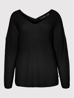 Vero Moda Curve Vero Moda Curve Sweter Lea 10252754 Czarny Regular Fit