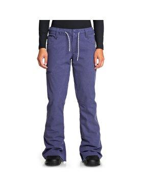 DC DC Spodnie snowboardowe EDJTP03022 Fioletowy Tailored Fit