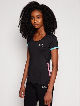 EA7 Emporio Armani EA7 Emporio Armani Techniniai marškinėliai 3KTT10 TJ56Z 1200 Juoda Slim Fit