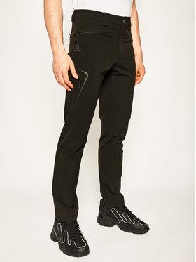 Salomon Salomon Spodnie outdoor Wayfarer Straight LC1187500 Czarny Straight Fit