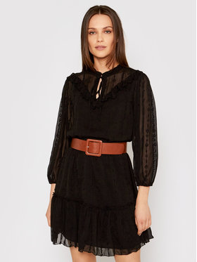 Liu Jo Liu Jo Ежедневна рокля WA1236 T5960 Черен Regular Fit