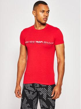 Emporio Armani Underwear Emporio Armani Underwear Tričko 111035 0P516 00074 Červená Regular Fit