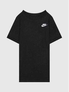 Nike Nike Тишърт Futura AR5254 Черен Standard Fit
