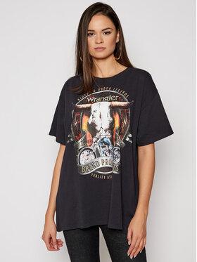 Wrangler Wrangler T-shirt W7R3GFXVD Noir Oversize