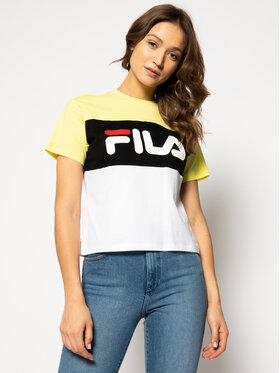 Fila Fila T-Shirt Allison 682125 Kolorowy Regular Fit