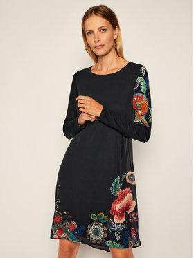 Desigual Desigual Kleid für den Alltag Siena 20WWVWA5 Dunkelblau Regular Fit
