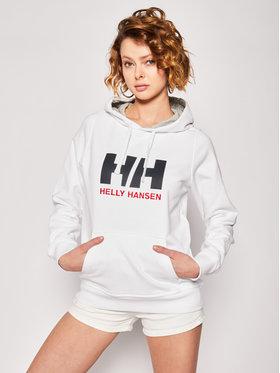 Helly Hansen Helly Hansen Bluză Logo 33978 Alb Regular Fit