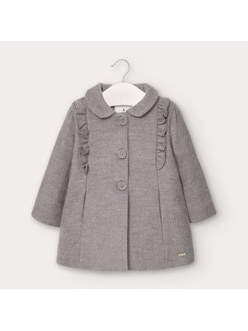 Mayoral Mayoral Manteau 2406 Gris Regular Fit