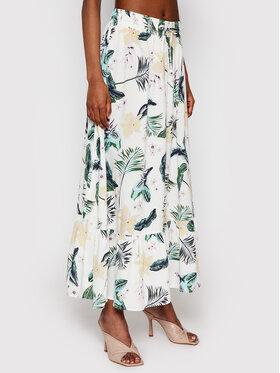 Roxy Roxy Maxi sukňa Summer Fade ERJWK03103 Biela Regular Fit