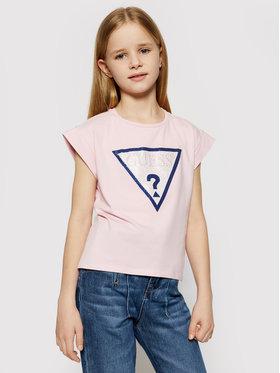 Guess Guess T-shirt J1RI26 K6YW1 Rosa Regular Fit