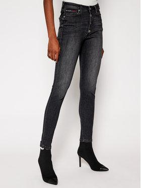 Tommy Jeans Tommy Jeans Super Skinny Fit džíny Sylvia DW0DW09055 Černá Super Skinny Fit