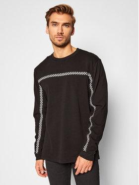 Vans Vans Sweatshirt Check Through Ls VN0A4TR8 Schwarz Regular Fit