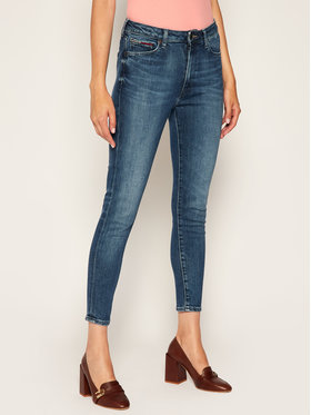 Tommy Jeans Tommy Jeans Jeansy Super Skinny Fit Sylvia Hr DW0DW08635 Granatowy Super Skinny Fit