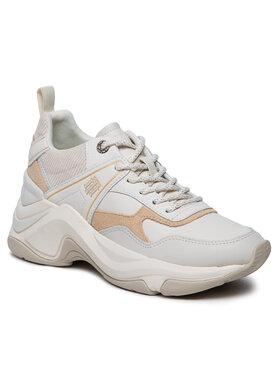 Tommy Hilfiger Tommy Hilfiger Sneakersy Fashion Wedge Sneaker FW0FW05934 Béžová