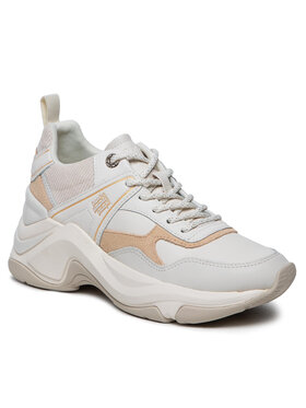 Tommy Hilfiger Tommy Hilfiger Tenisice Fashion Wedge Sneaker FW0FW05934 Bež