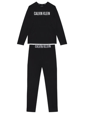 Calvin Klein Underwear Calvin Klein Underwear Piżama Knit Set B70B700277 Czarny