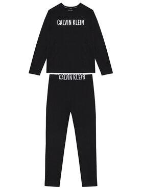 Calvin Klein Underwear Calvin Klein Underwear Pyžamo Knit Set B70B700277 Černá