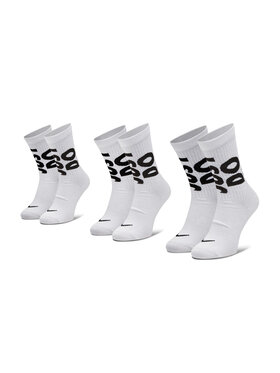 Nike Nike Zestaw 3 par wysokich skarpet unisex CT0539 Biały