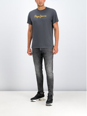 Pepe Jeans Pepe Jeans Relaxed Fit džíny PM204890WE7R Šedá Relaxed Fit