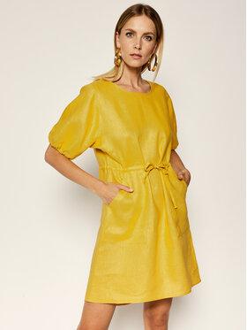MAX&Co. MAX&Co. Kasdieninė suknelė Dispone 62210320 Geltona Regular Fit
