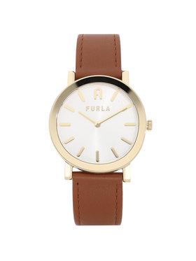Furla Furla Zegarek Minimal Shape WW00003-VIT000-03B00-1-007-20-CN-W Brązowy
