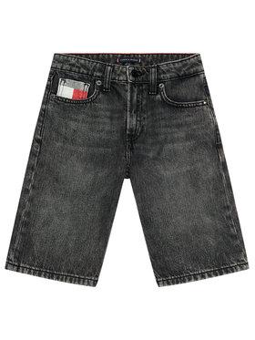 Tommy Hilfiger Tommy Hilfiger Szorty jeansowe Modern KB0KB06475 Czarny Regular Fit