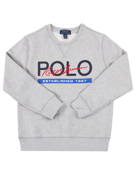 Polo Ralph Lauren Polo Ralph Lauren Mikina Spring II 323800659 Sivá Regular Fit