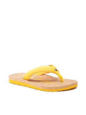 Tommy Hilfiger Tommy Hilfiger Japonki Gradient Tommy Beach Sandal FW0FW05669 Żółty