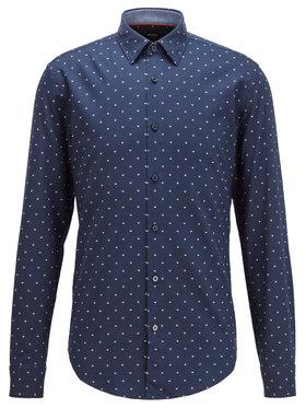 Boss Boss Marškiniai Ronni_53F 50435502 Tamsiai mėlyna Slim Fit