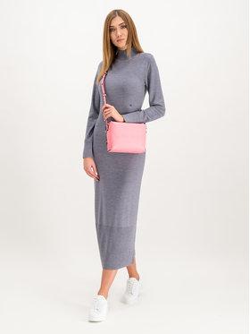 Calvin Klein Calvin Klein Úpletové šaty K20K201282 Šedá Slim Fit