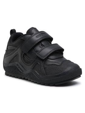 Geox Geox Обувки J Artach B. A J4434A 05443 C9999 M Черен