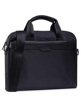 Boss Boss Чанта за лаптоп Luxowon_S Doc Case 50442856 Черен