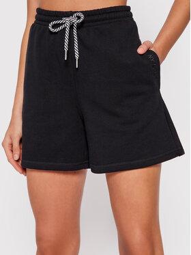 PLNY LALA PLNY LALA Sportske kratke hlače Shorty PL-SI-SH-00010 Crna Loose Fit