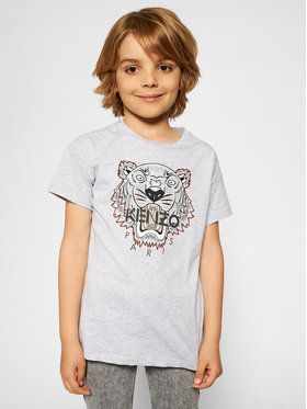 Kenzo Kids Kenzo Kids T-shirt K25113 S Grigio Regular Fit