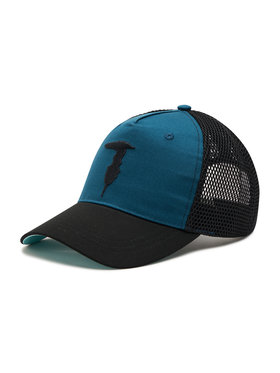 Trussardi Trussardi Шапка с козирка Baseball Hat Mesh Levriero Embroidery 57Z00164 Черен