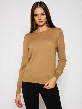 MICHAEL Michael Kors MICHAEL Michael Kors Sweter MU06PAYCHN Brązowy Relaxed Fit