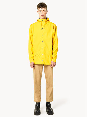 Rains Rains Giacca impermeabile Unisex Essential 1201 Giallo Regular Fit