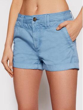 Pepe Jeans Pepe Jeans Pantaloncini di tessuto Balboa PL800629 Blu Regular Fit