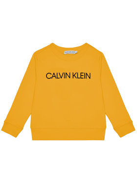 Calvin Klein Jeans Calvin Klein Jeans Pulóver Unisex Institutional Logo IU0IU00162 Sárga Regular Fit