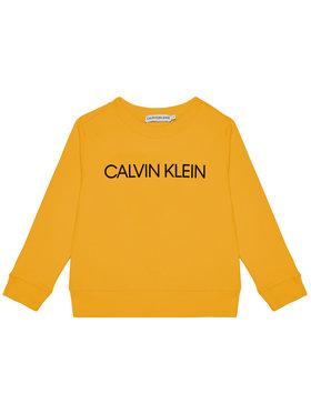 Calvin Klein Jeans Calvin Klein Jeans Sweatshirt Unisex Institutional Logo IU0IU00162 Jaune Regular Fit