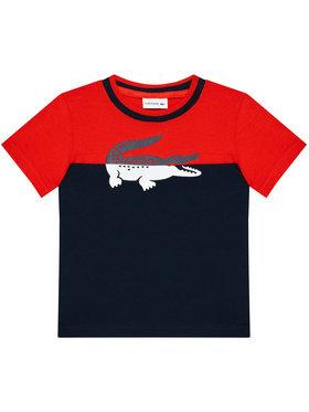 Lacoste Lacoste Marškinėliai TJ2303 Tamsiai mėlyna Regular Fit