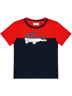 Lacoste Lacoste T-shirt TJ2303 Blu scuro Regular Fit