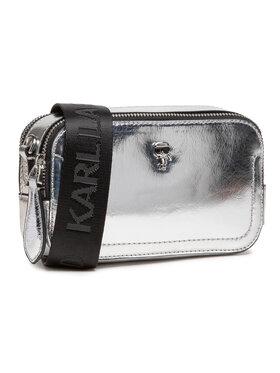 KARL LAGERFELD KARL LAGERFELD Handtasche 210W3077 Silberfarben