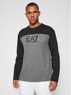 EA7 Emporio Armani EA7 Emporio Armani Marškinėliai ilgomis rankovėmis 6HPT54 PJT3Z 3925 Pilka Regular Fit
