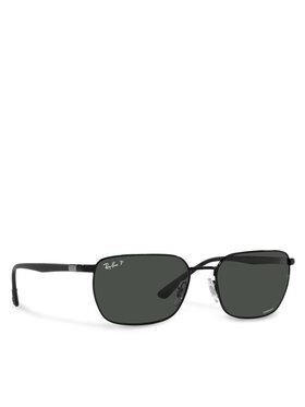 Ray-Ban Ray-Ban Okulary przeciwsłoneczne Chromance 0RB3684CH 002/K8 Czarny