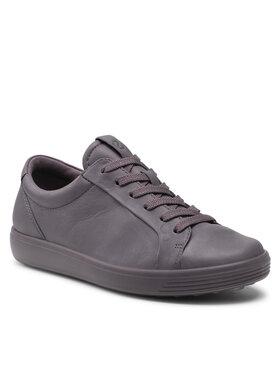 ECCO ECCO Sneakersy Soft 7 W 47030360091 Fioletowy