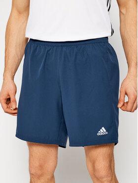 adidas adidas Sportiniai šortai GJ9937 Tamsiai mėlyna Regular Fit