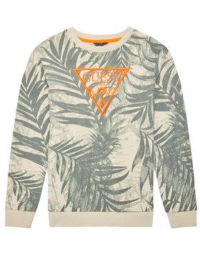 Guess Guess Džemperis L1GQ04 KA6R0 Žalia Regular Fit